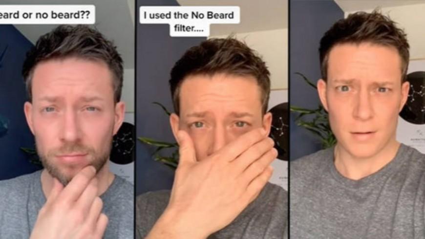 Découvrez le filtre qui efface la barbe ! (vidéo)