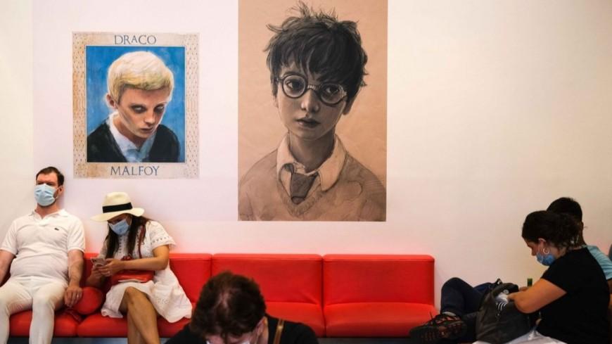 Harry Potter arrive à la gare de Nice