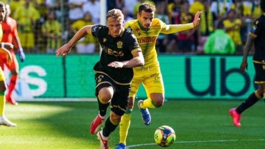 L'OGC Nice victorieux (2-0) face à Nantes