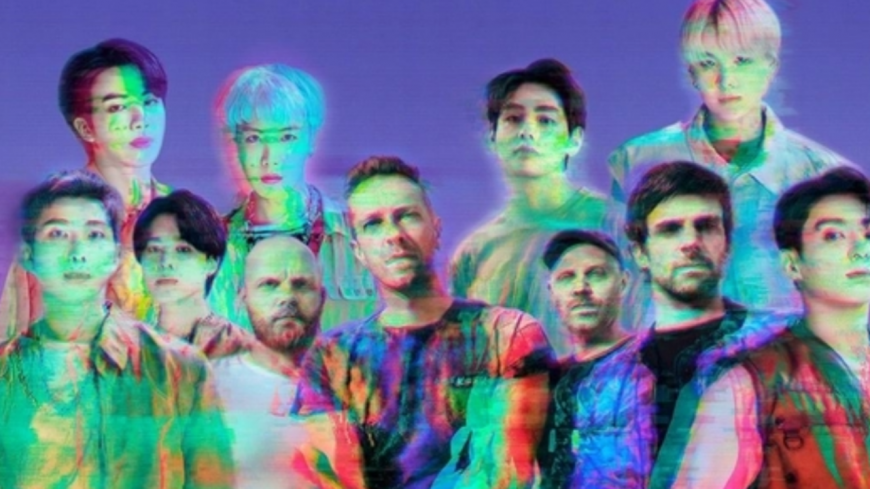 Coldplay annonce un titre en collaboration avec le phénomène K-POP, BTS !