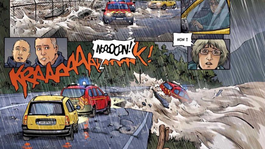 Un an après, une bande dessinée revient sur le drame de la tempête Alex