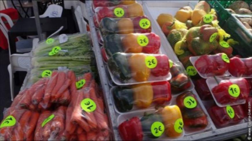 Les emballages en plastique interdits pour les fruits et légumes