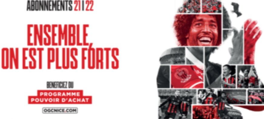 L'OGC Nice lance sa campagne d'abonnement pour la prochaine saison