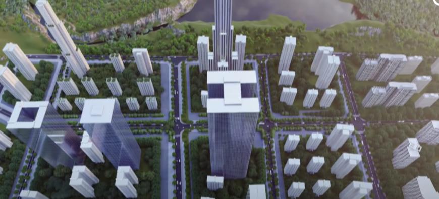 Insolite - Un immeuble de 10 étages construit en 28 heure et 45 minutes ! (vidéo)
